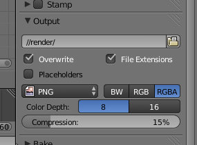 Blender bug output settings