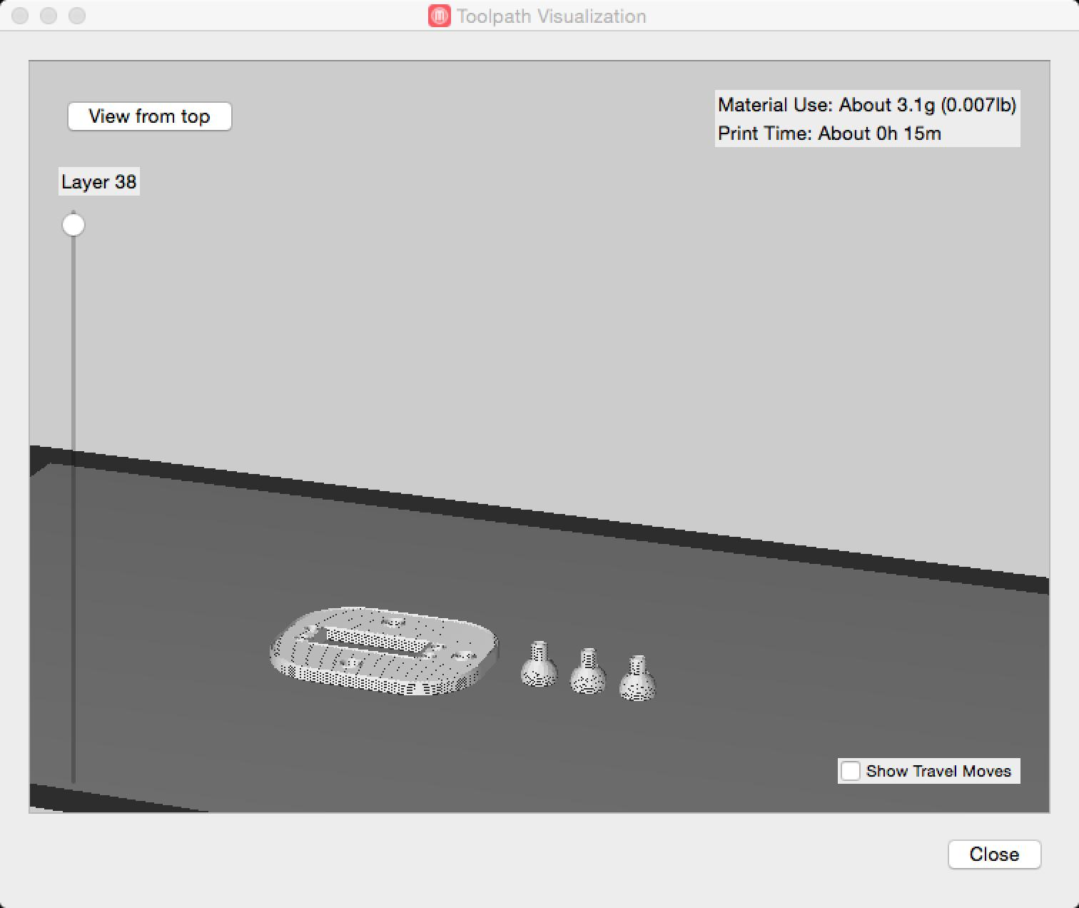 Makerbot preview