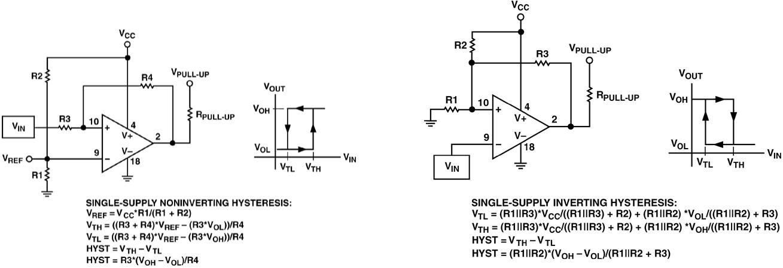 comparator schematics