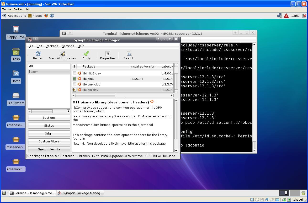 installing libxpm