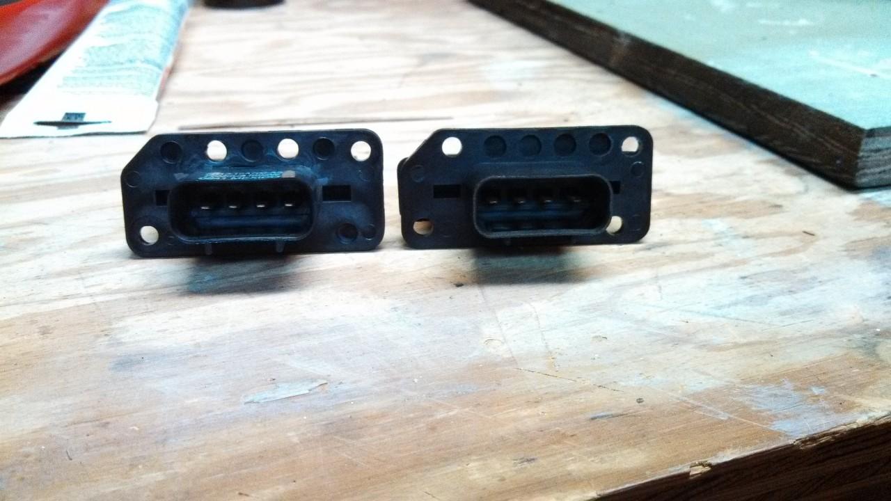 Drill resistor holes
