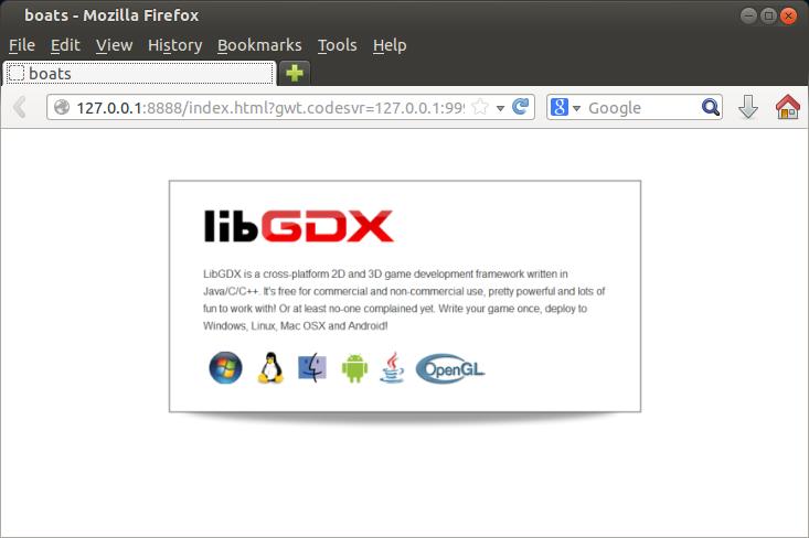 libGDX on the web