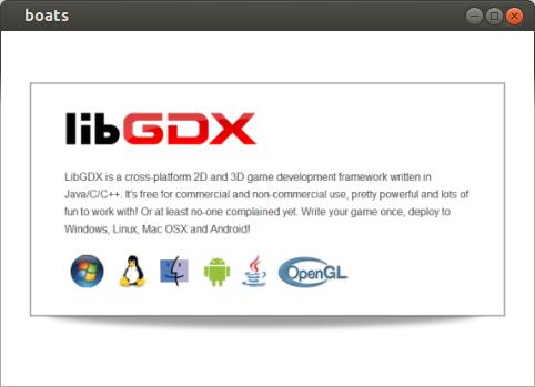 libGDX on desktop